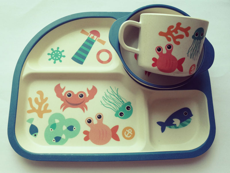 Kinderservies Krab